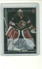 PATRICK LALIME 2000-01 BE A PLAYER SIGNATURE SERIES AUTO OTTAWA SENATORS GOALIE