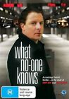 What No One Knows (DVD, 2009)