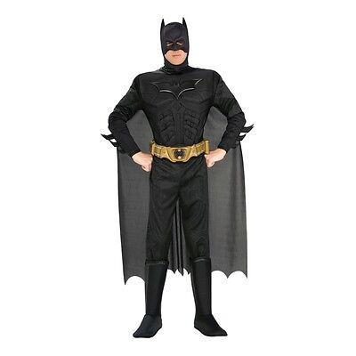 Batman Kostüm schwarz Herren Superhelden Dark Knight Karneval Fasching Original