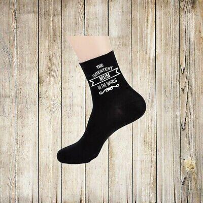 Aunty to Be Personalised ETA Date Month Purple Ladies Socks X6N672