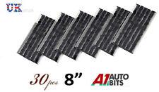 "30 x Tubeless Tire Tyre Puncture Repair Kit  8"" Strips Plug Car Van Truck Bike"