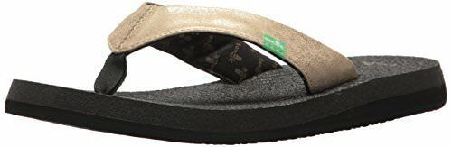 Sanuk Womens Yoga Glam Flip-Flop- Pick SZ color.