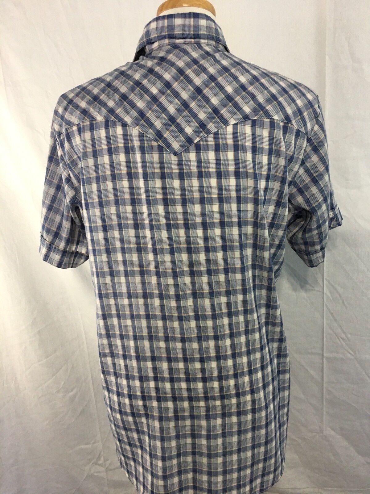 Miller Miller Miller Pearl Snap Shirt Vintage Siz… - image 6