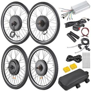 894ffeb9567 Image is loading 48V1000W-26-034-Front-Rear-Wheel-Electric-Bicycle-