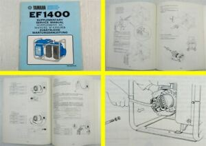Manuel-d-039-atelier-Yamaha-EF-1400-Generateur-complementaire-Maintenance-instructions-service-Manu