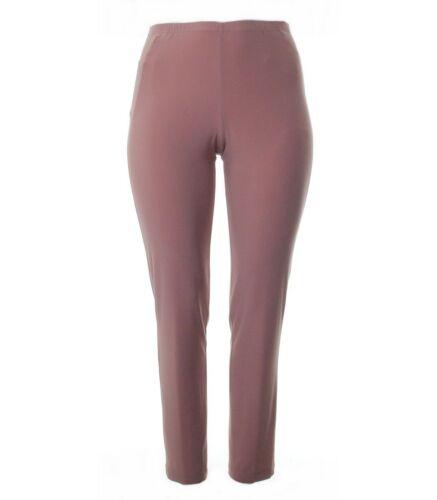 Verpass Jersey Sommer-Hose Damen Rosa Große Größen mit Gummizug Plus Size Legins