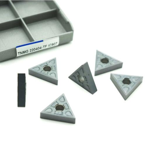 10pcs TNMG220404-TF IC907 TNMG431-TF CNC carbide INSERT