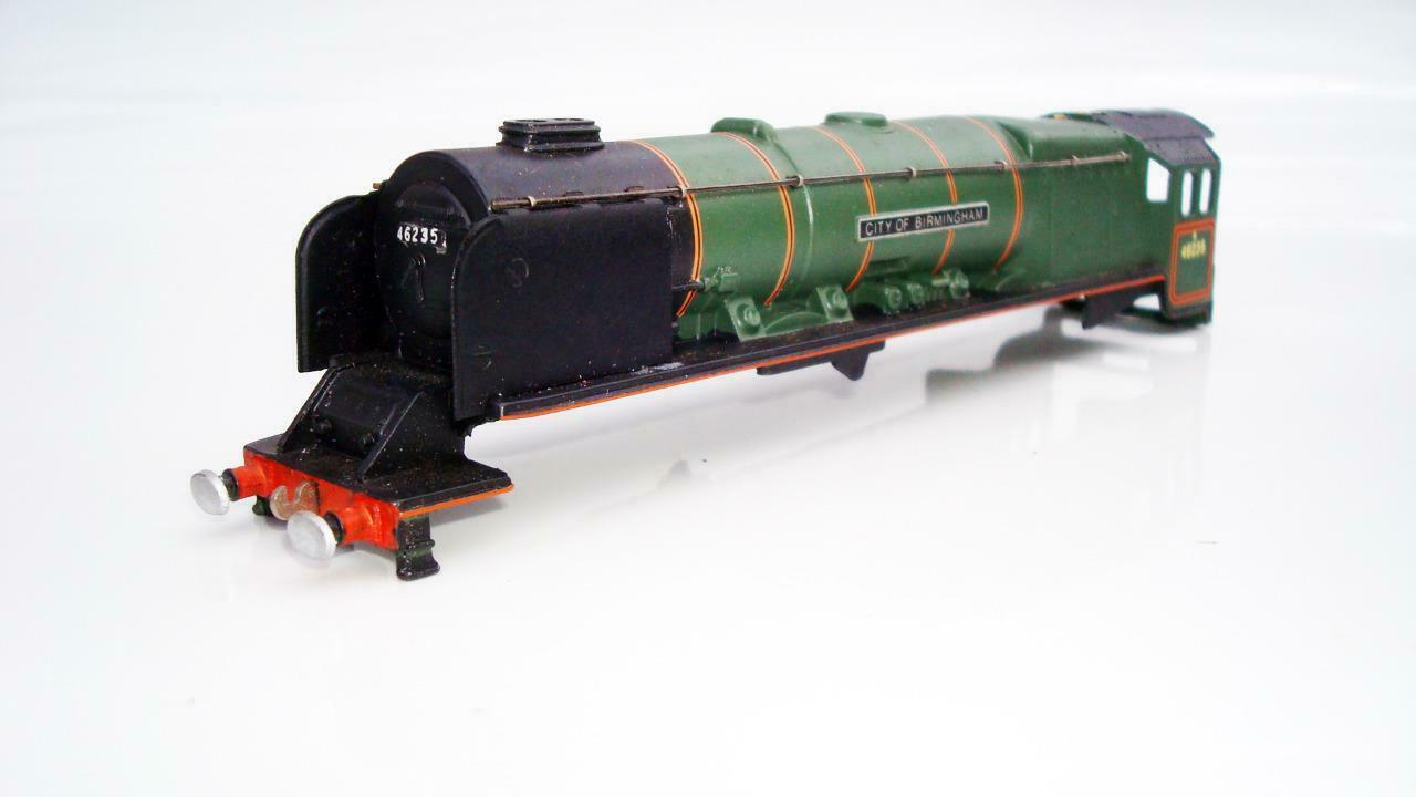 WRENN W2228 B.R.verde 4-6-2 CITY OF BIRMINGHAM BODY ONLY NR MINT CONDITION