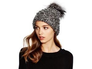2e450990ca7 KYI KYI CANADA Marled Charcoal Gray Popcorn Cuff Slouchy Knit Hat ...