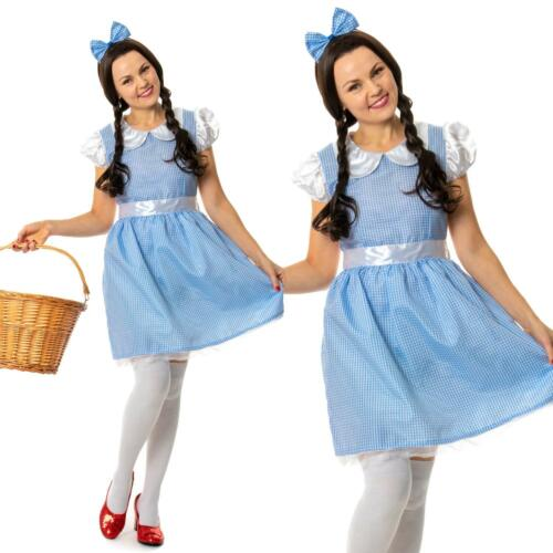 Adulti Carino Dorothy Oz Costume Grande Mago Costume Donna Donna