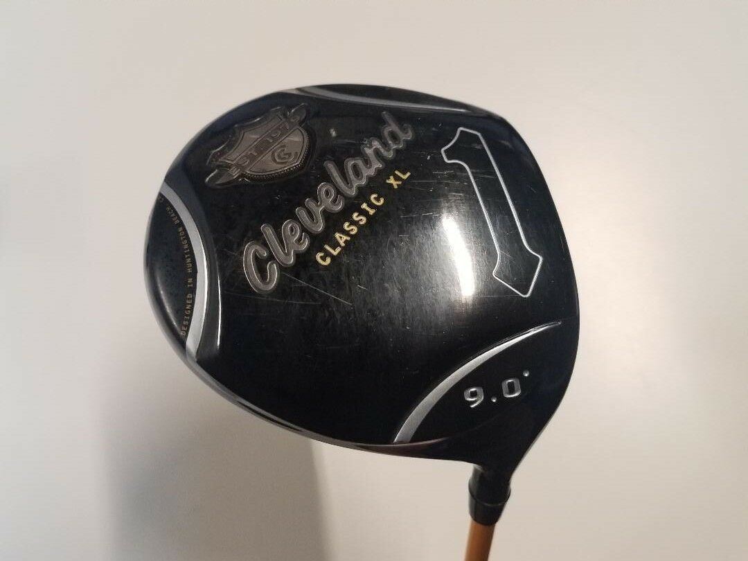 Cleveland Classic XL Driver. 9 Degrees. UST ProForce gold Long Drive X-Stiff