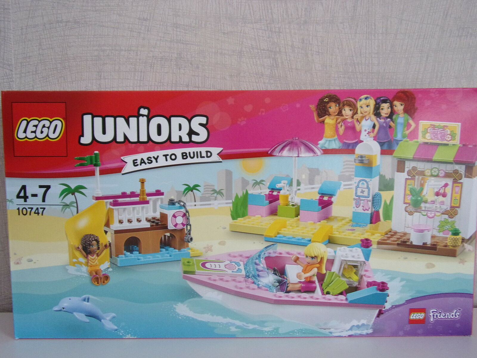 LEGO Juniors (Friends) 10747 Andrea  Stephanies Vacances à la plage -