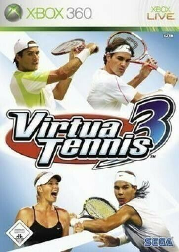 Microsoft Xbox 360 jeu - Virtua Tennis 3 dans l'emballage utilisé