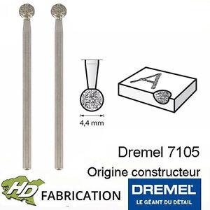 Ravissement Pointe Diamant 4,4 Mm Dremel 7105 Lot De 2 - 26157105ja Style à La Mode;