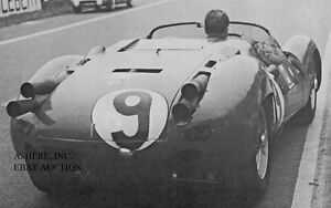 Maserati-Tipo-63-1961-24-Hours-Le-Mans-photo-photograph