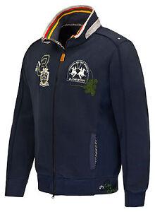 Sale-La-Martina-Herren-Sweatjacke-Blau-T-Shirt-Poloshirt-Hemd-Size-XL