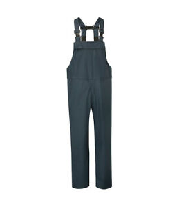 Air-Flex Waterproof Windproof BREATHABLE Bib N Brace Dungaree Overalls Lightweight Fort By Fortress S-XXL L, NAVY