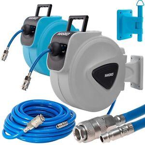 MASKO-Druckluftschlauch-Aufroller-Automatik-Schlauchtrommel-EU-1-4-Trommel-NEU