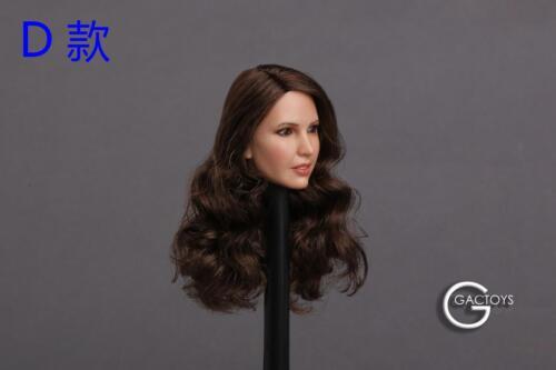 "1//6 Beauty head sculpt GC018 D for 12/"" female figure Phicen Kumik hot toys ❶USA❶"