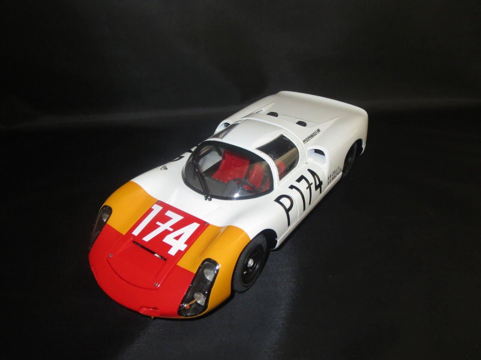 Exoto Motorbox Porsche 910 Monterey Historics (L.Cella G.Biscaldi) 1 18 ohne Vp.
