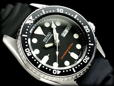 SEIKO Diver SKX013K1 Black Boy Orologio Subacqueo Diver Watch 200m
