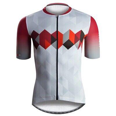 Baisky Cycling-Jersey-Men-Mesh-Flame Red T2266B