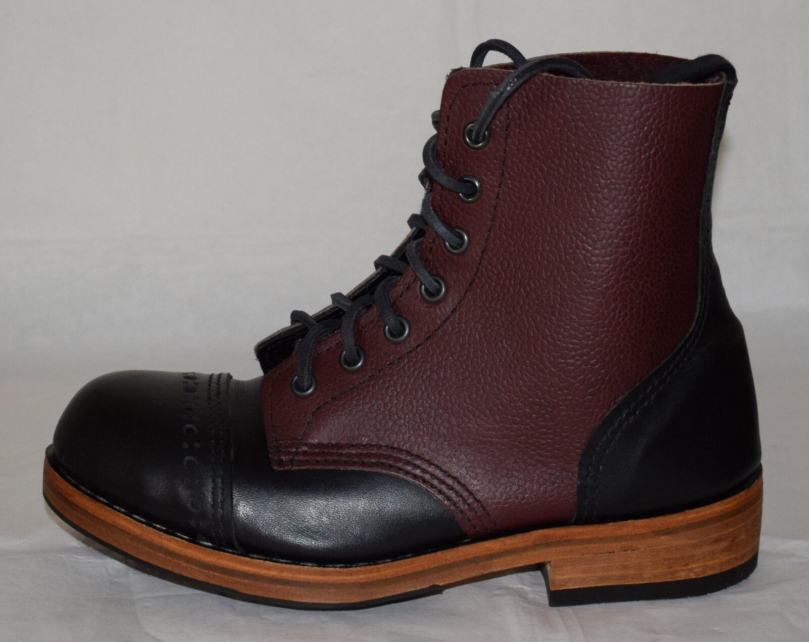 William Stiefel Lennon Derby Two Tone  Leder Stiefel William UK4 0d1ad2