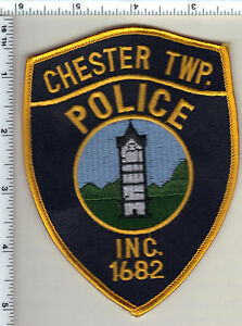 Chester Township Police (Pennsylvania) Shoulder Patch from 1998