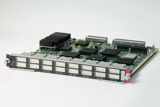 Cisco Commutateur Module WS-X6516-GBIC 16 Port Gigabit Commutateur Ethernet