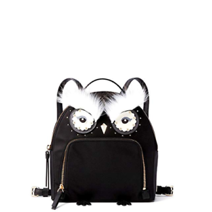 NWT Kate Spade Star Bright Owl Tomi Cityscape Leather Mini Backpack MSRP $329