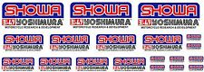 KIT 19 ADESIVI SHOWA  YOSHIMURA STICKERS A COLORI FORCELLA COD63