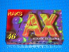 RAKS  AX  46       BLANK CASSETTE TAPE  (1)  (SEALED)