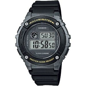 Casio-W-216H-1BV-Grey-Black-Sports-Digital-Watch-with-Box-Included