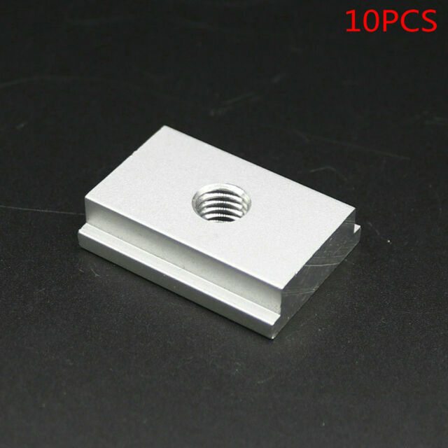 SET of 10PCS, M8 T-Slider for T-slot for Various Woodworking Jigs