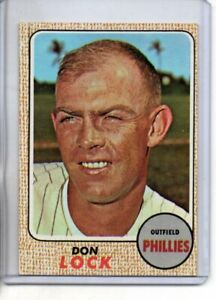 1968 TOPPS DON LOCK #59 ( EX-MT OR BETTER )