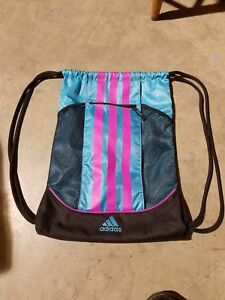 dc1a6ba9d Adidas Alliance Sack Pack Drawstring Gym Bag Unisex Backpack Sport ...