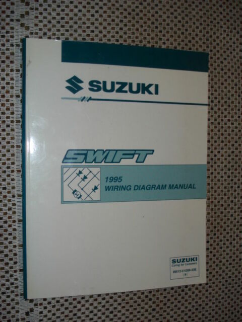 1995 Suzuki Swift Wiring Diagram Service Manual Shop Nr