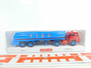 BX295-0-5-Wiking-1-87-H0-0882-48-Tanksattelzug-LKW-MAN-Pausbacke-NEUW-OVP