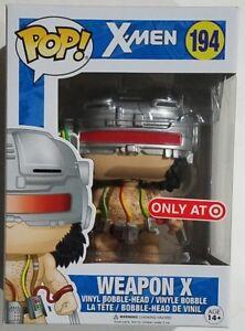 Action- & Spielfiguren FUNKO POP X-Men Wolverine WEAPON X Logan #194 Exclusive Vinyl Figure NEW OTHER