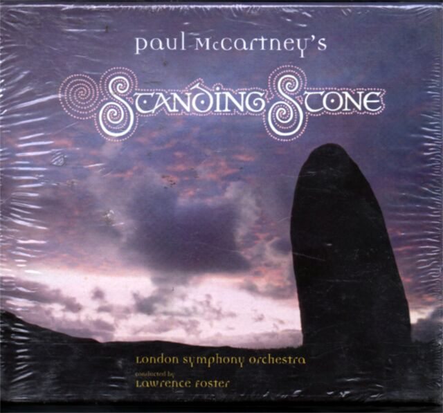 McCARTNEY PAUL STANDING STONE BOOKLET L  FOSTER MC SEALED