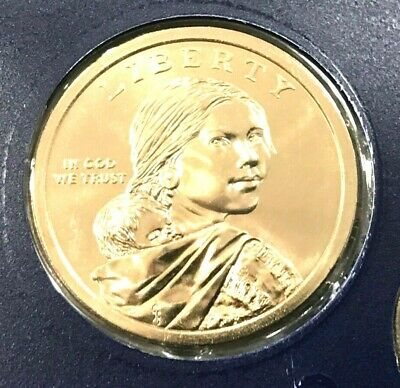 2000 D Sacagawea Dollar In Mint Cello VERY NICE COIN