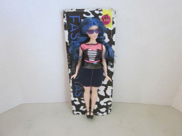 Barbie Fashionistas Doll 27 Sweetheart Stripes Curvy For Sale Online Ebay