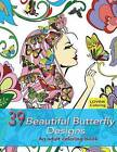 39 Beautiful Butterfly Designs: An Adult Coloring Book: Relaxing and Stress Relieving Adult Coloring Books by Lovink Coloring (Paperback / softback, 2015)