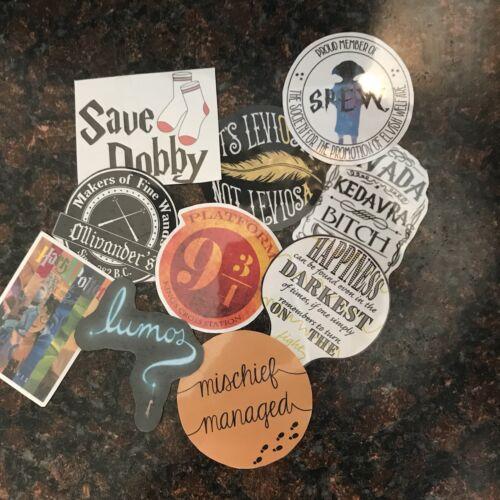 Harry Potter Sticker Set Handmade