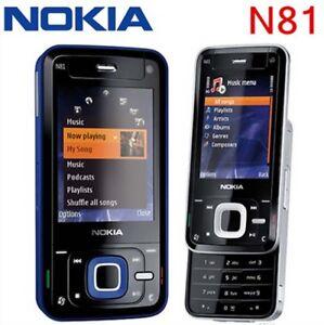 Original-2-4-034-Nokia-N81-Unlocked-3G-GSM-WIFI-2MP-FM-Mobile-Phone-Free-Shiping