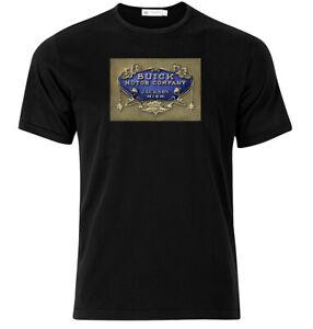 Buick-Motor-Company-Graphic-Cotton-T-Shirt-Short-amp-Long-Sleeve