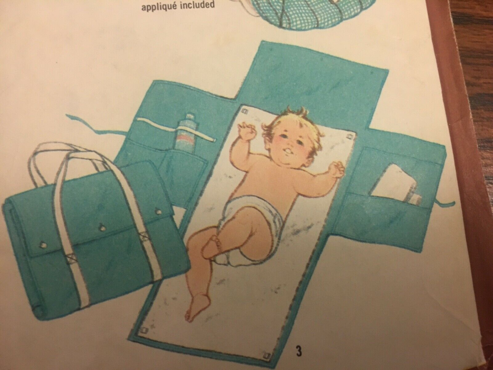 Vintage 1980s Baby Travel Mat Simplicity 9926 Uncut Sewing Patterns Newborn Baby Shower Gifts One Size Tote Seat Cover