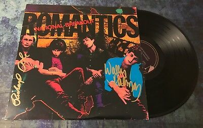 Professional Sale Gfa Wally Palmar & Rich Cole The Romantics Signed Record Album Ad2 Coa Convenience Goods