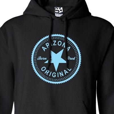 Arizona Original Inverse HOODIE - Hooded Born & Bred in Sweatshirt - All Colors