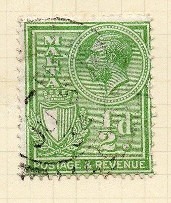 2019 Mode Malta 1930 Early Issue Fine Used 1/2d. 029188